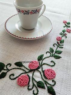 Çeyiz ve dekorasyona ait herşe Bullion Embroidery, Brazilian Embroidery Stitches, Hand Embroidery Videos, Embroidery Bags, Simple Embroidery, Embroidery Needles, Embroidery Techniques, Floral Embroidery Patterns, Hand Embroidery Designs