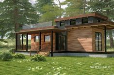 Wheelhaus builds the next generation of modular prefab cabins. Our tiny house designs are eco friendly module luxury cabins on wheels.