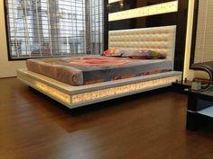 Simple Bedroom Design, Wardrobe Design Bedroom, Bedroom Furniture Design, Master Bedroom Design, Bed Furniture, Box Bed Design, Double Bed Designs, Living Room Tv Unit Designs, Bed Lights