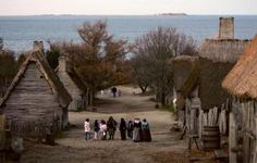 The Original 13 States of the United States of America: Plymouth Colony Plantation Recreates World of The Pilgrims