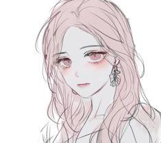 Pretty Anime Girl, Anime Art Girl, Anime Love, Chica Anime Manga, Kawaii Anime, Manga Drawing, Manga Art, Aesthetic Art, Aesthetic Anime