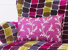 Soft Furnishings - Welcome to the Rodgers website built by Iconography Ltd Soft Furnishings, Iridescent, How To Draw Hands, Vibrant, House Design, Throw Pillows, Range, Painting, Interiors