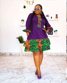 13 Beautiful Ankara Styles For Women - Amazing African Outfits Here are amazing Ankara styles/African outfits for women. The Ankara styles below are Short African Dresses, African Inspired Fashion, Latest African Fashion Dresses, African Print Dresses, African Print Fashion, Ankara Fashion, Africa Fashion, African Prints, African Fabric