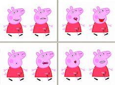 El rinconcito de Audición y Lenguaje: Praxias de Peppa Pig y de Pocoyó y Elly Oral Motor Activities, Art Activities, Peppa Pig, Language Lessons, Baby Learning, Speech Therapy, Motor Skills, Logos, Ajak