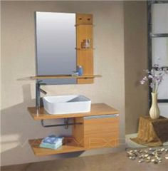 Saneux Monty Wenge Soft Close Bathroom Vanity Drawer Unit - Bathroom vanity clearance sale