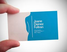 Creative Medical business card amongst other examples as well. Good inspiration here