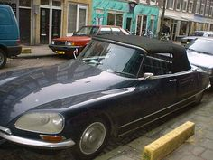 Citroën DS - one I saw in Amsterdam