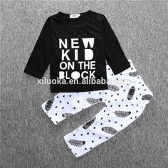 2016 New Clothing Manufactures Children Boys Clothes Fancy Kids Set