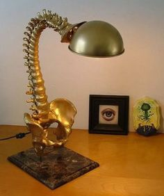 Why don't you get a backbone (lamp)?