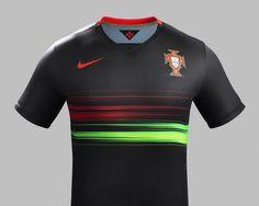 Portugal away kit 2015 2016 @nikefootball