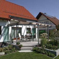 Kaltwintergarten verschönert eine Terrasse im Raum Forchheim