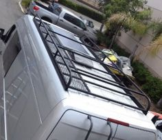 custom baja roof rack with sup utility crossbars