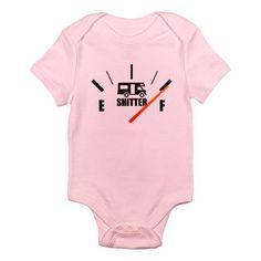 Shitter Was Full Infant Bodysuit