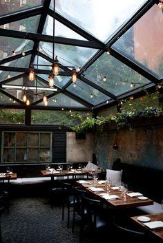 diseño y muebles para restaurantes