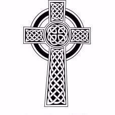 Celtic Cross Engraving - Large