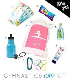 Gymnastics Car Kit - the essentials | Gym Gab