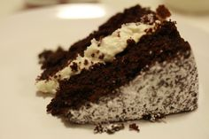 baking therapy: chocolate cake with ricotta filling - The Answer is Always Pork