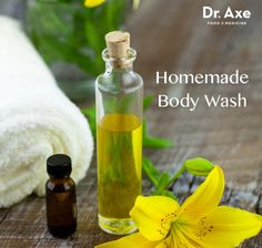 Homemade Body Wash -