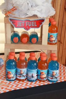 Little Aviator Airplane Birthday Party Printables Supplies