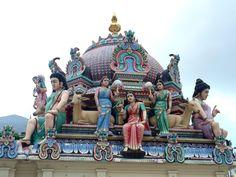 Sri Mariamman, czyli hinduska świątynia w singapurskim Chinatown