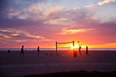 Volleyball on Venice Beach (by ChrisGoldNY)