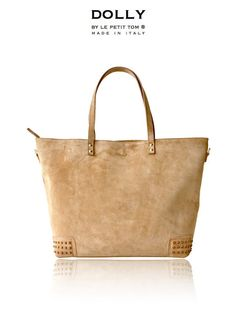 DOLLY Diaper bag MOCCASIN BAG DMBAG5 cappuccino suede - a girl can dream...