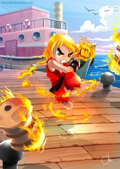 KEN MASTERS Mini by LAI6.deviantart.com on @deviantART