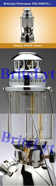 BriteLyt/Petromax USA 500CP/XL Pressure Lantern. Multi-Fuel/Dual Fuel Kerosene, Gasoline,And More! This includes:BriteLyt XL 500CP Nickel Plated Brass Lantern Parts/Tool Kit (6) Mantles Fuel Funnel Spirit Bottle Instruction booklet The BriteLyt XL 500CP Rapid, the new world standard! The new BriteLyt family of high powered lanterns represent the biggest innovation in over 100 years for liquid fueled lantern technology. We started from scratch to design the most durable, functional and...