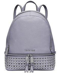 5f01ab248b7d90 MICHAEL Michael Kors Rhea Zip Grommet Medium Backpack & Reviews - Handbags  & Accessories - Macy's