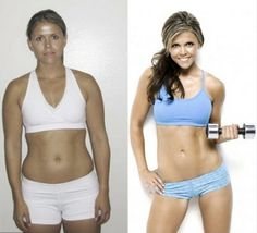 Katrina's Tone It Up Nutrition Plan Transformation!