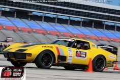Chris Smith has qualified for the 2015 #OUSCI in this 1972 Chevrolet Corvette