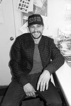 James Franco backstage #3