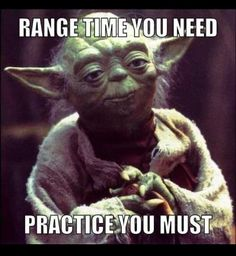 .#Practice makes perfect. #Guns WE HAVE THIS AT OUR AIR RIFLE RANGE!!!!!!!!