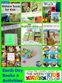 Celebrating Earth Day with the Weekly Kid's Co-Op #EarthDay