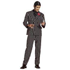 Ce déguisement de gangster comprend une veste et un pantalon. Disponible en…