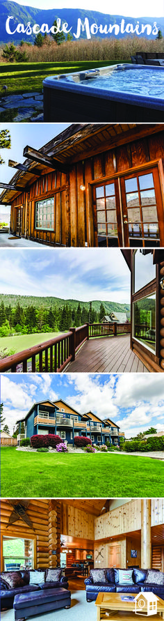 Plan a relaxing weekend away with views of the #CascadeMountains!