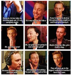 Tom's various quotes...