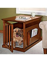 Magazine Rack Dog Crate Table | Solutions