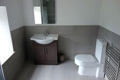 Restroom ideas, gray bathroom walls, half bathroom decor,grey bathrooms i. Half Bathroom Decor, Bathroom Wall Tile, Grey Wall Decor, Light Grey Bathrooms, Half Bathroom, Bathrooms Remodel, Tile Bathroom, Gray Bathroom Walls, Bathroom Design
