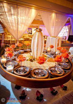 Suhaag Garden, Indian Wedding Decorator, Desert Lounge, Desert Presentation, Florida Wedding Decorator, White & Green Themed Event, Dessert Lounge Display