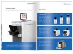 Todd Research Overview Brochure designed by Brownstone