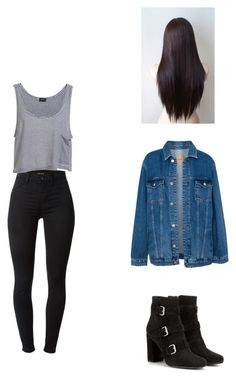 """""""Urk / AP"""" by girlunknowns ❤ liked on Polyvore featuring J Brand, Bardot, Pull&Bear and Yves Saint Laurent"""
