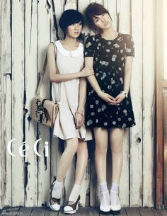 Miss A Suzy and Jia – Ceci Magazine May Issue '12