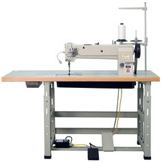 Sailrite Big-N-Tall Long Arm Sewing Machine in Power Stand with MC-SCR - Sailrite