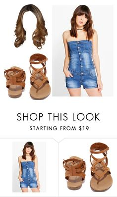 """Untitled #11789"" by iamdreamchaser ❤ liked on Polyvore featuring Boohoo and Breckelle's"