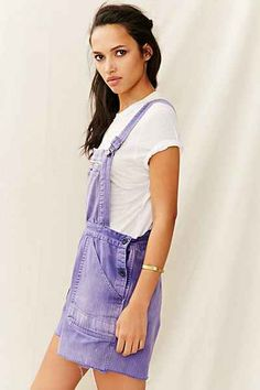 Vintage Front-Zip Shortall Romper - Urban Outfitters