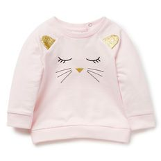 Baby Girl t shirts Hoodies Terry Cotton Sweatshirts - Baby Products Baby Outfits, Kids Outfits, Girls Crop Tops, Shirts For Girls, Baby Girl Fashion, Kids Fashion, Baby Online, Baby Sewing, Pyjamas