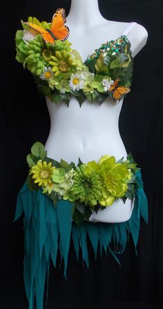 2 Piece Forest Fairy by RevoltCouture on Etsy