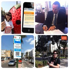 We r the makers of the first #4Sqday street #game @ Ramat-HaSharon City near TLV Israel #foursquare day Israel 2011!
