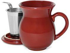 tea mug + infuser